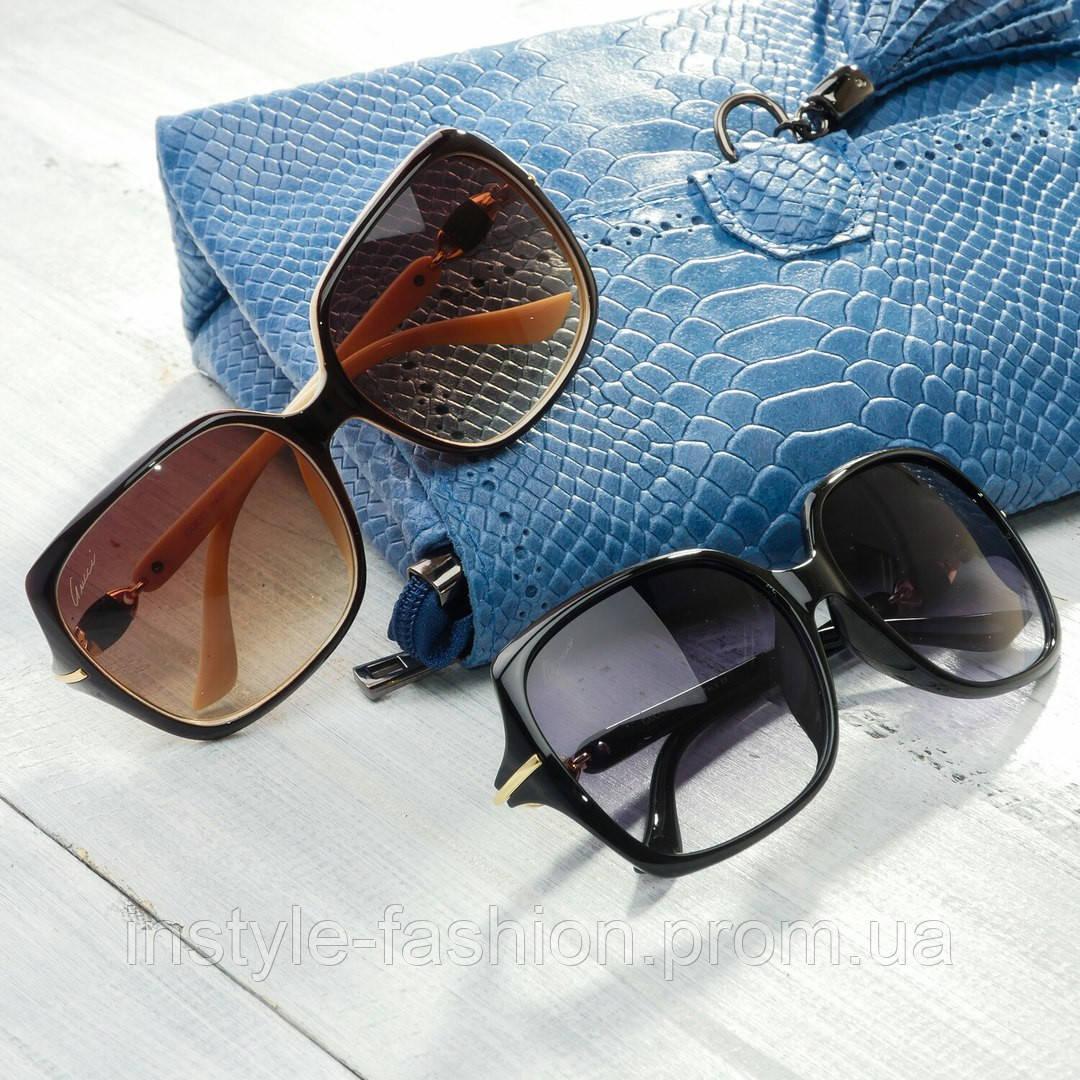 Женские брендовые очки Гуччи Gucci квадратные - Сумки брендовые, кошельки,  очки, женская одежда 3581a6eae0e