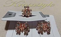 Маленький Золотой металлический краб , фото 1