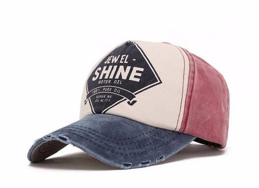 Бейсболка унисекс Shine, стильная и модная. Цвет №2.