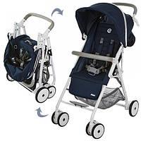 Детская прогулочная коляска Pilot Синяя (M 3294-4)