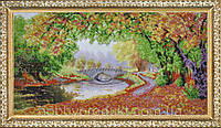 """Набор для вышивания бисером """"Осени краски"""" (по картине Елены Самарской), фото 1"""