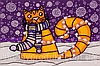"""Набор для вышивания бисером """"Полярный кот"""""""
