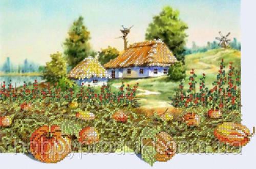 """Рисунок на ткани для вышивания бисером """" Моя Украина"""", фото 2"""