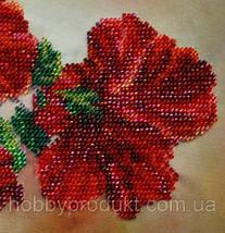 """Набор для вышивания бисером """"Китайская роза"""", фото 3"""