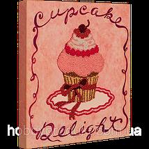 """Набор для вышивания бисером """"Розовое пирожное"""", фото 2"""