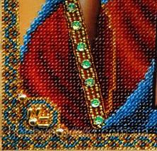 """Набор для вышивания бисером """"Икона Христа Спасителя"""", фото 3"""