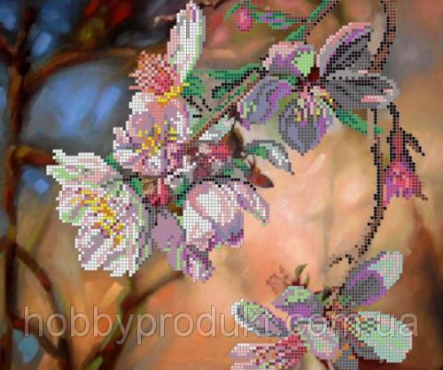 """Рисунок на ткани для вышивания бисером """"Сакура"""", фото 2"""