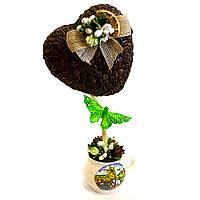 Сувенир подарок ручной роботы Кофейное дерево любви на счастье