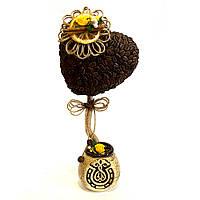 Сувенир подарок ручной роботы Кофейное дерево любви