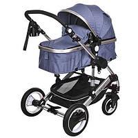 Детская коляска-трансформер Bambi Синяя (535-Q3-BLUE), фото 1