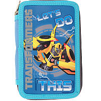 Пенал-книжка Kite без наполнения, 2 отделения, 623 Transformers