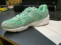 Кроссовки женские Puma Trinomic R698 Bright Wool Pack Menthol пума тримомик, магазин дисконт интернет