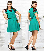 Кокетливое платье Жасмин  .(разные цвета) код 158 Б