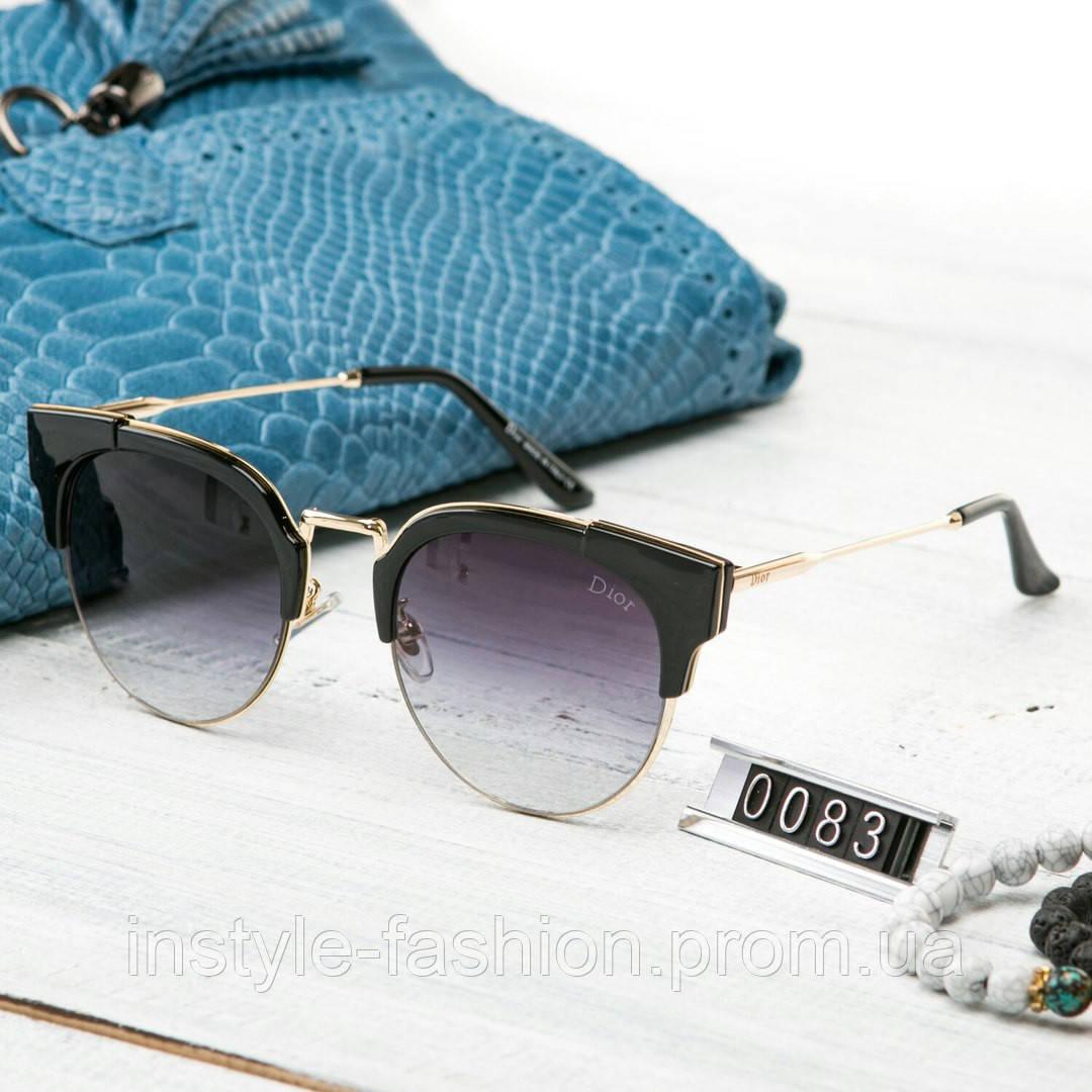 0a235bc00277 Женские брендовые очки копия Диор реплика черные  купить недорого ...
