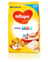 Молочная каша Milupa рисовая 210 гр.c 4 мес