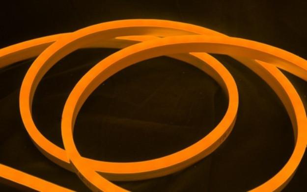 LED НЕОН SL-001 SMD 2835/120 220V оранжевый IP68 (1м) Код.58866