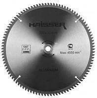 Диск пильный Haisser 300х30 100 зуб по аллюминию (отрицательный зуб)