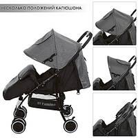 Детская прогулочная коляска (M 3433-1 CENTRO) (Серый), фото 1
