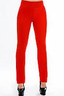 """Красные женские брюки """"Классик """" р.42-52"""