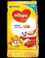 Молочная каша Milupa рисовая с малиной 210 гр.с 5 мес