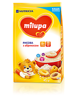 Молочная каша Milupa рисовая с абрикосом 210 гр.с 5 мес
