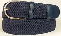 Джинсовый ремень Hand Made (Синий)