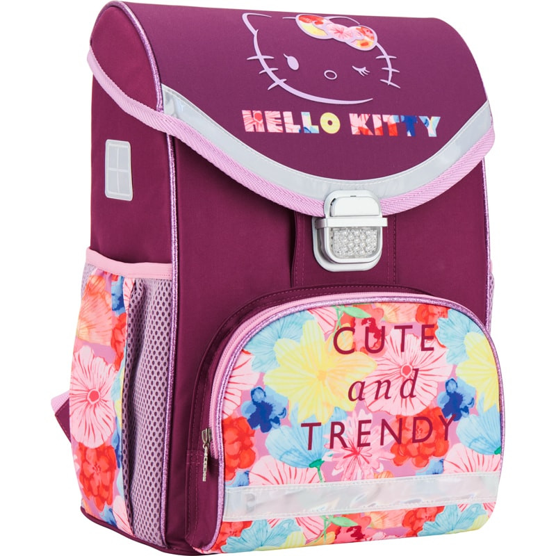 84138e955eef Рюкзак школьный каркасный Kite Hello Kitty Хеллоу Китти (HK17-529S ...