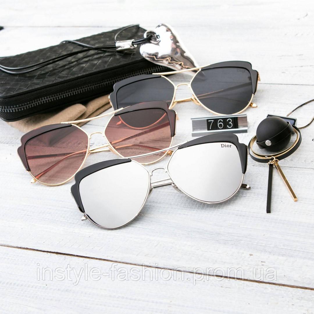 Женские брендовые очки копия Диор капли выбор цветов
