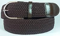 Джинсовый ремень резинка Hand Made (Коричневый)