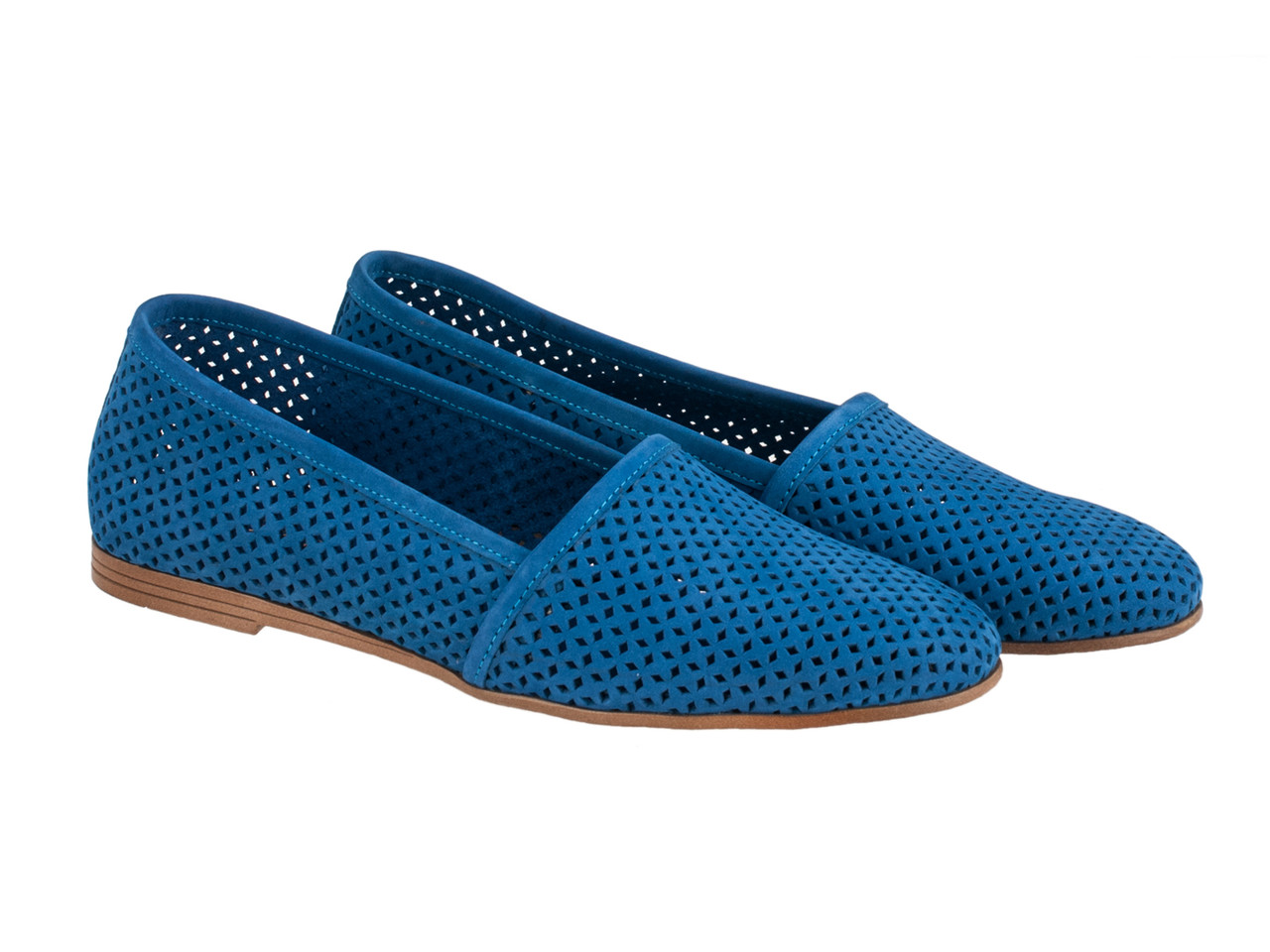 Балетки Etor 6006-7331-718 синие