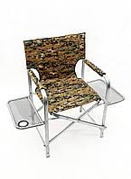 "Раскладное кресло ""Режиссер-2"" 52х45х47 см. Две полочки, Ножки"