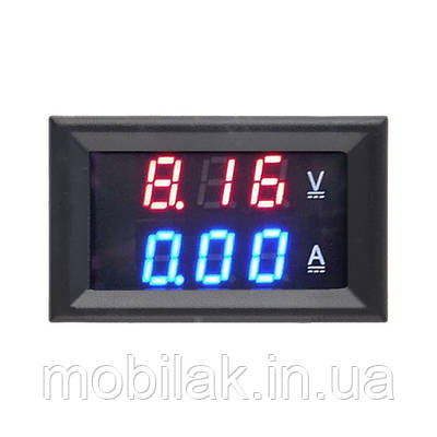 Цифровой Вольтметр Амперметр DC 0-100 В 10A
