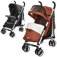Детская коляска-трость Bambi (M 3432-1 SOFT) (Серый), фото 1