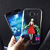 Силиконовые чехлы с девушкой для Samsung Galaxy А5 2015 (А500h), фото 9