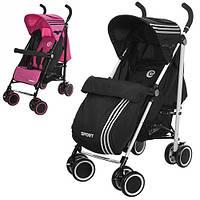 Детская коляска-трость Bambi (M 3431-1 SPORT) ( Розовый), фото 1