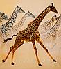 """Набор для вышивания бисером """"Жирафы"""""""