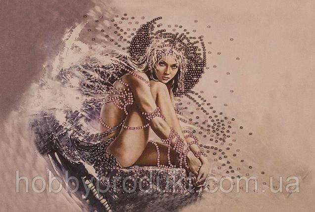 """Набор для вышивания бисером """"Девушка ангел"""", фото 2"""