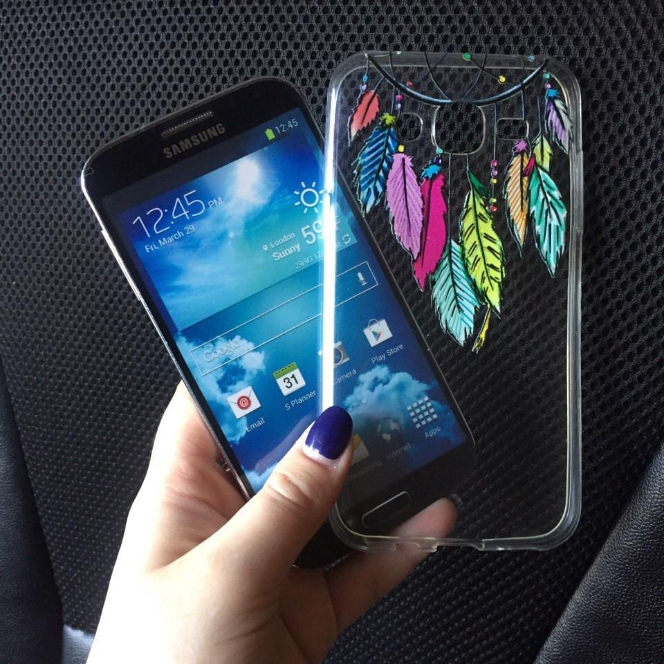Силиконовые чехлы с картинками для Samsung Galaxy А5 2015 (А500h)