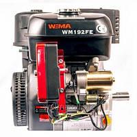Бензиновый двигатель Weima WM192FE-S  (25мм, шпонка, эл/старт), бензин 18л.с. для мотоблоков