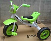 Трехколесный велосипед 1712 салатовый EVA колеса