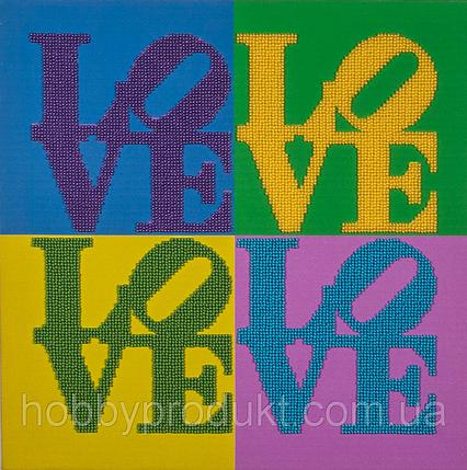 """Набор для вышивания бисером """"Love"""", фото 2"""