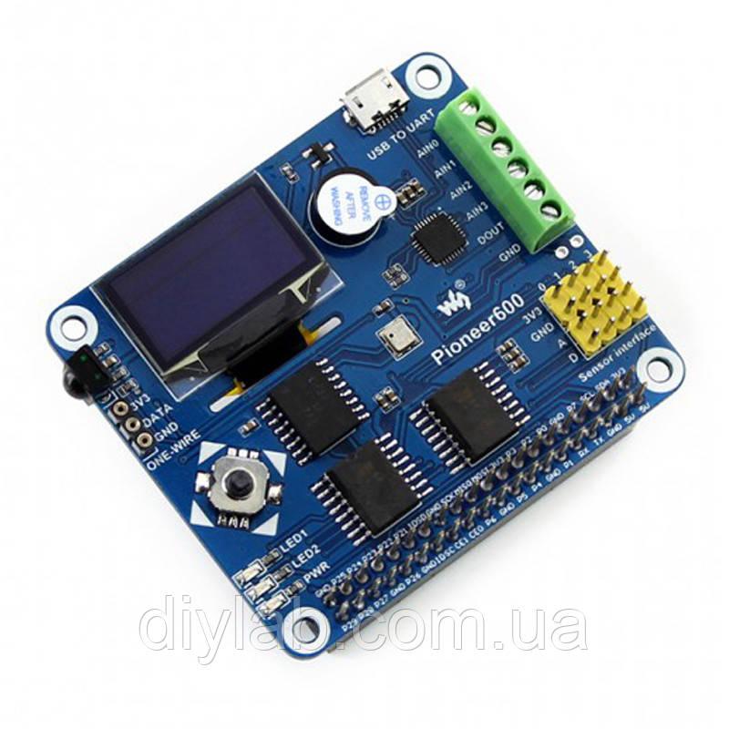 Плата розширення для Raspberry Pioneer600 від Waveshare, фото 1