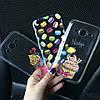 Чехлы силиконовые с принтом для Samsung Galaxy A3 2015 (A300h), фото 2