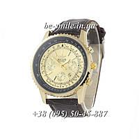 Breitling Chronometre Navitimer Brown/Gold/Black - Gold