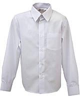 Школьная рубашка для мальчика с длинным рукавом