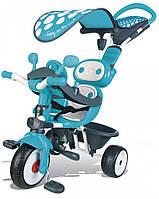 Велосипед трёхколёсный Smoby Комфорт Голубой (740601)