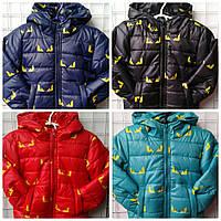 Детская демисезонная курточка Batman, 92-116 см