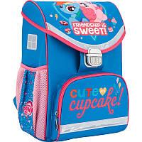 Рюкзак школьный каркасный Kite My Little Pony Литл пони (LP17-529S)