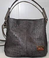 Сумка торба женская красная однотонная Производитель Украина 17-610-1