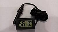 Термометр цифровой с гигрометром и выносным датчиком WSD-12, фото 2